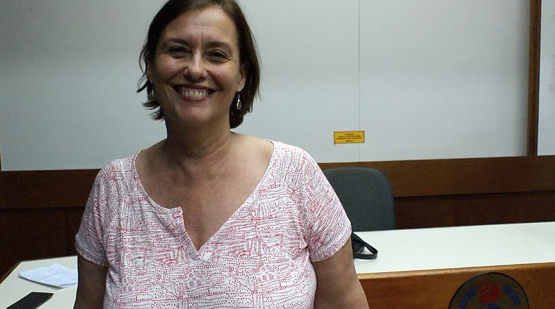 Estela Aquino, pesquisadora do ISC-UFBA