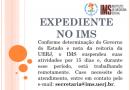Nota da Direção sobre o funcionamento do IMS