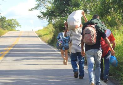 """""""Surto importado"""": migrações de crise no Brasil na década de 2010"""
