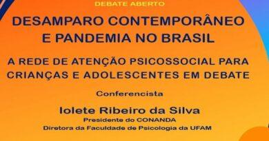 31/07/2020 – das 14h às 17h – Debate aberto: Desamparo contemporâneo e pandemia no Brasil