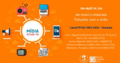 """""""Relações com a mídia"""" é o tema do IMS debate a pandemia de 06/07"""