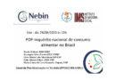 <em>Live</em> POF – Inquério nacional de consumo alimentar no Brasil