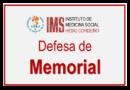 15/04 – 13h – Sessão pública de defesa de Memorial para promoção a Professor titular, por Cid Manso de Mello Vianna
